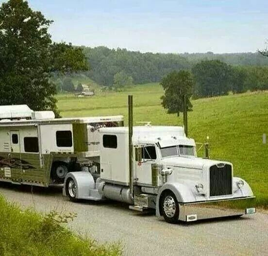 Love the truck!! My horses would not want to get out of this!!