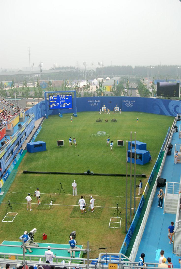 Tir à l'arc aux Jeux olympiques d'été de 2008 // Olympic Green Archery Field, Archery at the 2008 Summer Olympics-Men's individual ◆Tir à l'arc — Wikipédia http://fr.wikipedia.org/wiki/Tir_%C3%A0_l%27arc #Archery