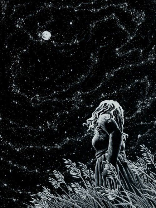 I love the night, and count the moon and stars among my closest friends. Spirit…