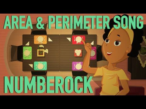 Perimeter & Area Song: Squares and 2D Shapes Song and Music Video