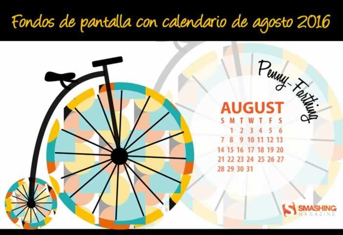 Fondos de pantalla con o sin el calendario del mes de agosto de 2016 #fondosdepantalla #calendarioagosto2016