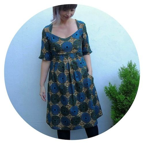 Perfectly Pear Shaped: Simplicity 1800 - Amazing Fit Dress - Ivy Arch