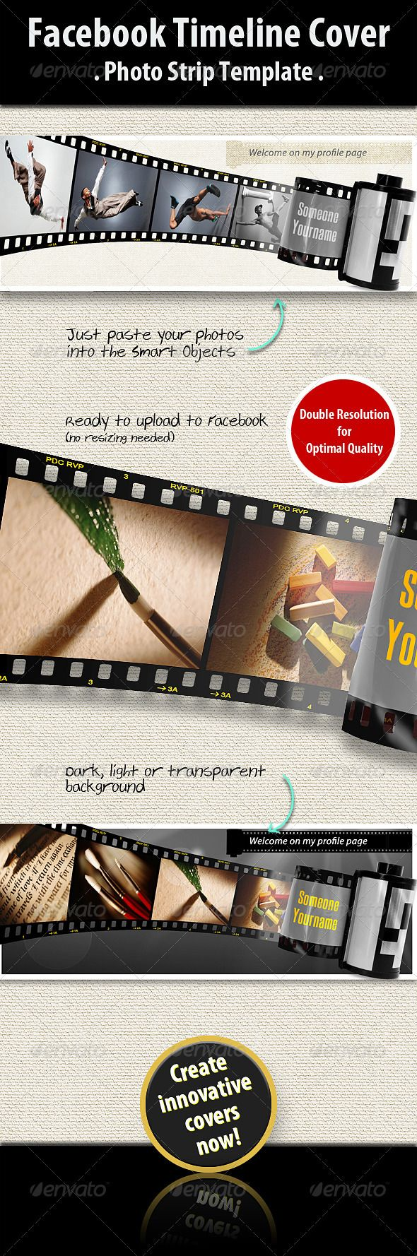 the 25 best facebook cover photo template ideas on pinterest