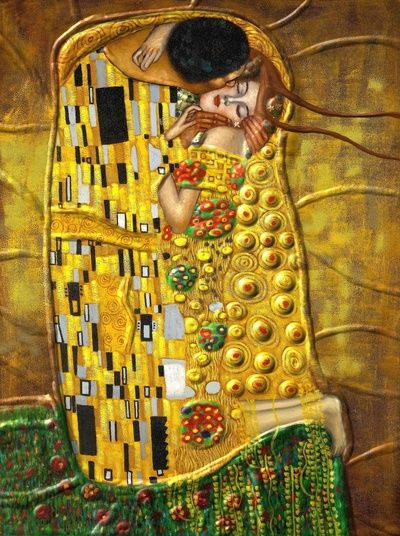 Art-Gustav Klimt- Kiss