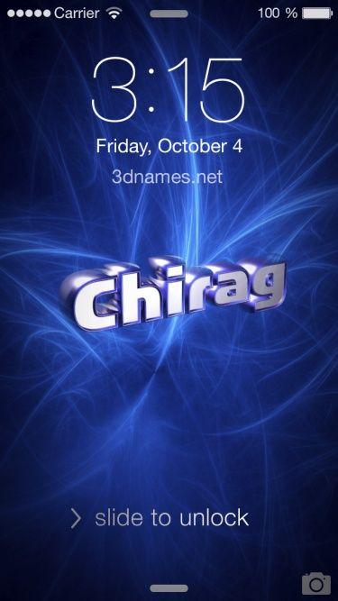 Chirag Logo Name Logo Generator Smoothie, Summer, Birthday