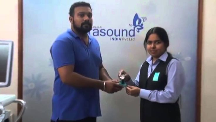 NUIPL HR presenting award to Mr. Anand Shankar , the winner of this week...