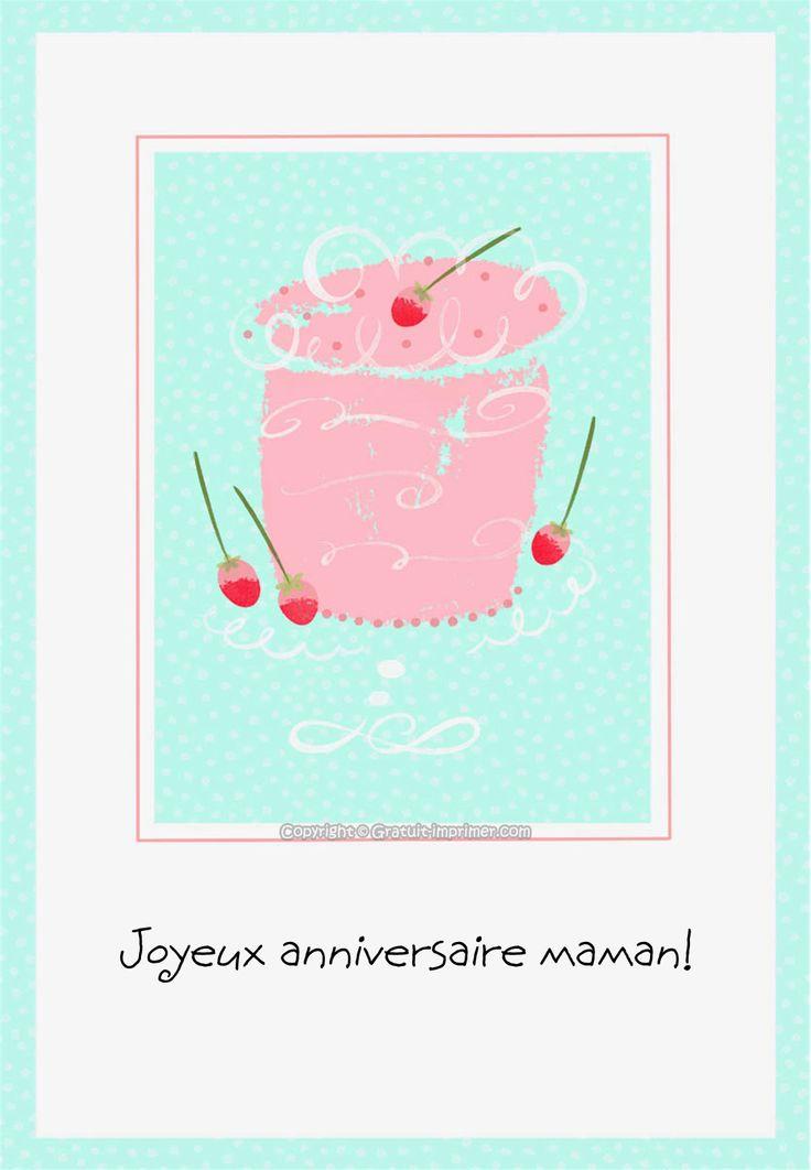 Best 20 joyeux anniversaire maman ideas on pinterest citations joyeux anniversaire maman - Image anniversaire maman ...