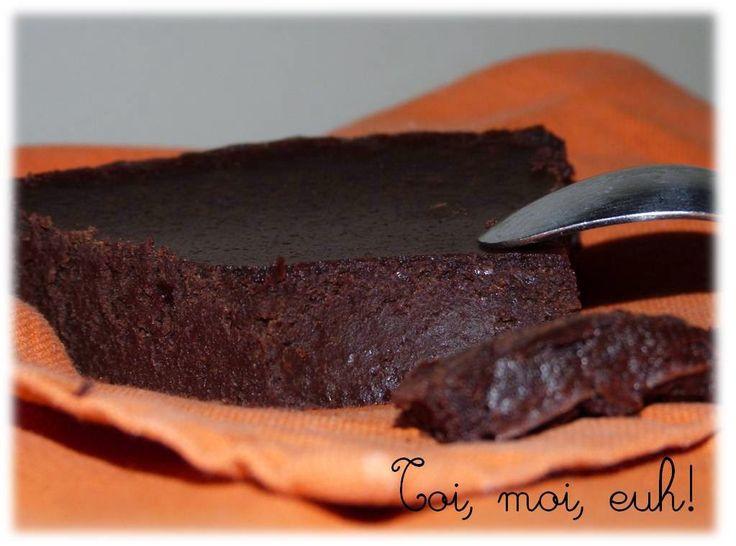 Fondant chocolat / lentille!