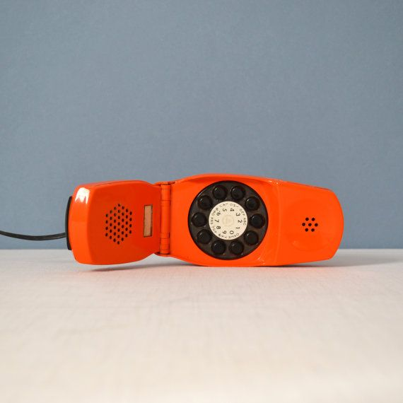 Vintage Mod Marco Zanuso and Richard Sapper Grillo telephone
