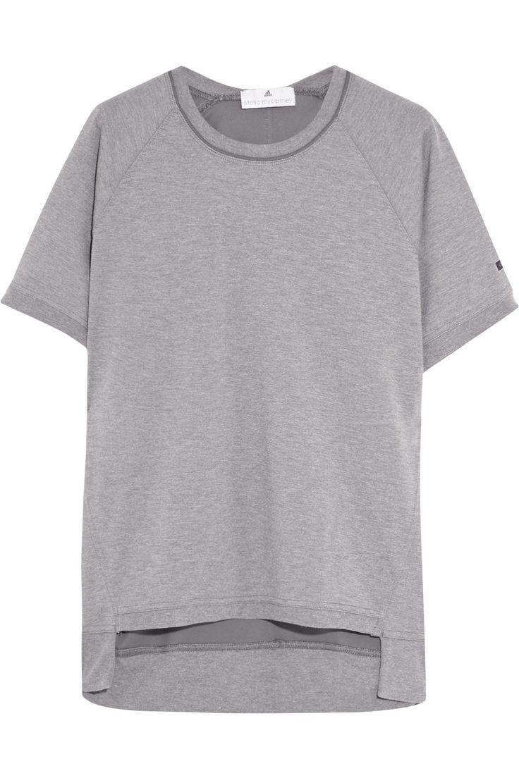 ADIDAS BY STELLA MCCARTNEY Paneled Jersey T-Shirt. #adidasbystellamccartney  #cloth #t