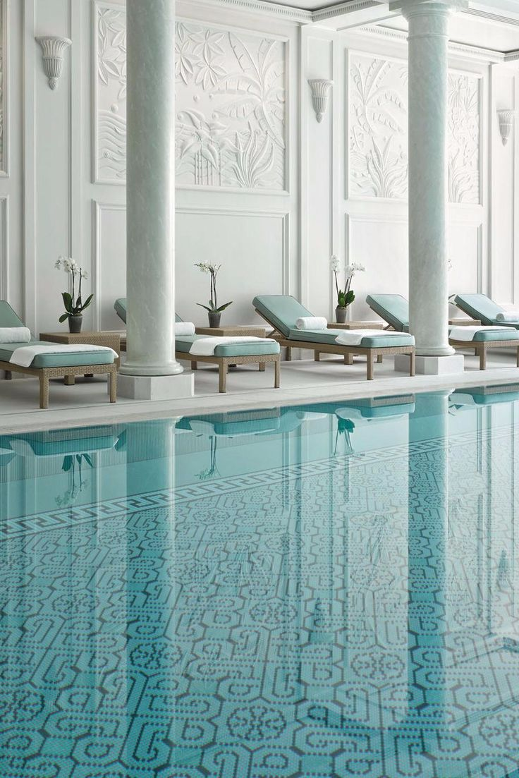 Take a dip in the pool after a full day of sightseeing in the City of Light. Shangri-La Hotel Paris (Paris, France) - Jetsetter