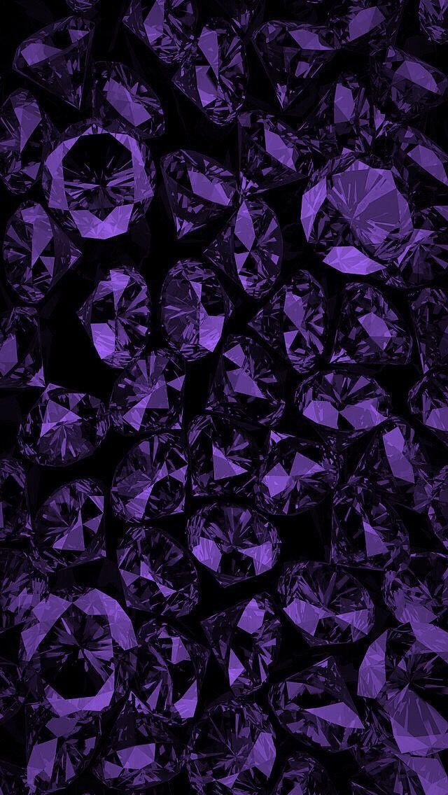 Pin By Brenda Hyde On Pioggia Purple Aesthetic Purple Wallpaper Wallpaper Backgrounds