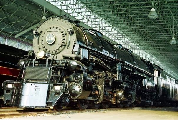 Steam Locomotives at the Virginia Museum of Transportation in Downtown Roanoke