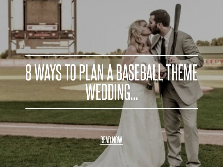 Baseball Theme Wedding save the Date... - 8 Ways to Plan a Baseball Theme Wedding... [ more at http://wedding.allwomenstalk.com ] October is hot for baseball, fans are on the edge of their seats cheering on their favorite teams in Postseason waiting to see if they make it to the World Series. If you are a baseball fanatic and engaged, you might be thinking about how to throw a baseball theme wedding. Whether it's on an actual baseball field or yo... #Wedding #The #Cards #Baseball #Throw…