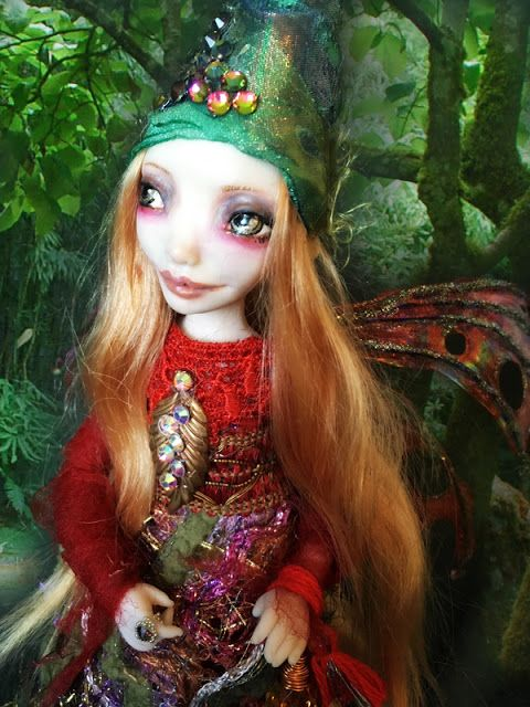 Fuzzi Flower: OOAK healing fairy Lora one of a kind https://www.etsy.com/listing/593343951/ooak-fairy-art-doll-lora-healing-fairy?ref=shop_home_active_1
