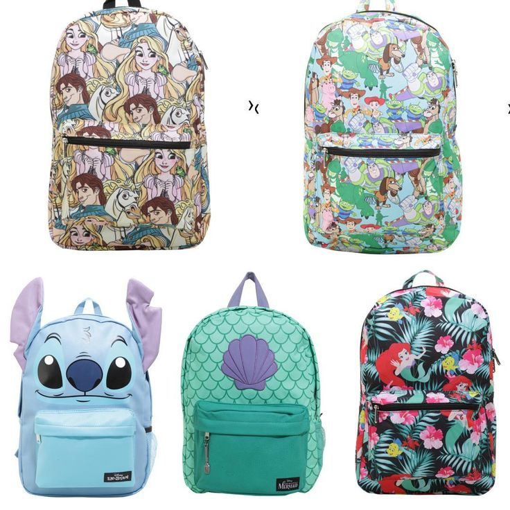 Hot Topic Disney backpacks
