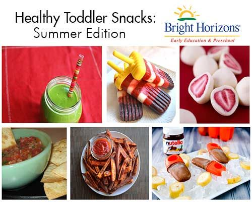 Healthy Toddler Snacks: Summer Edition