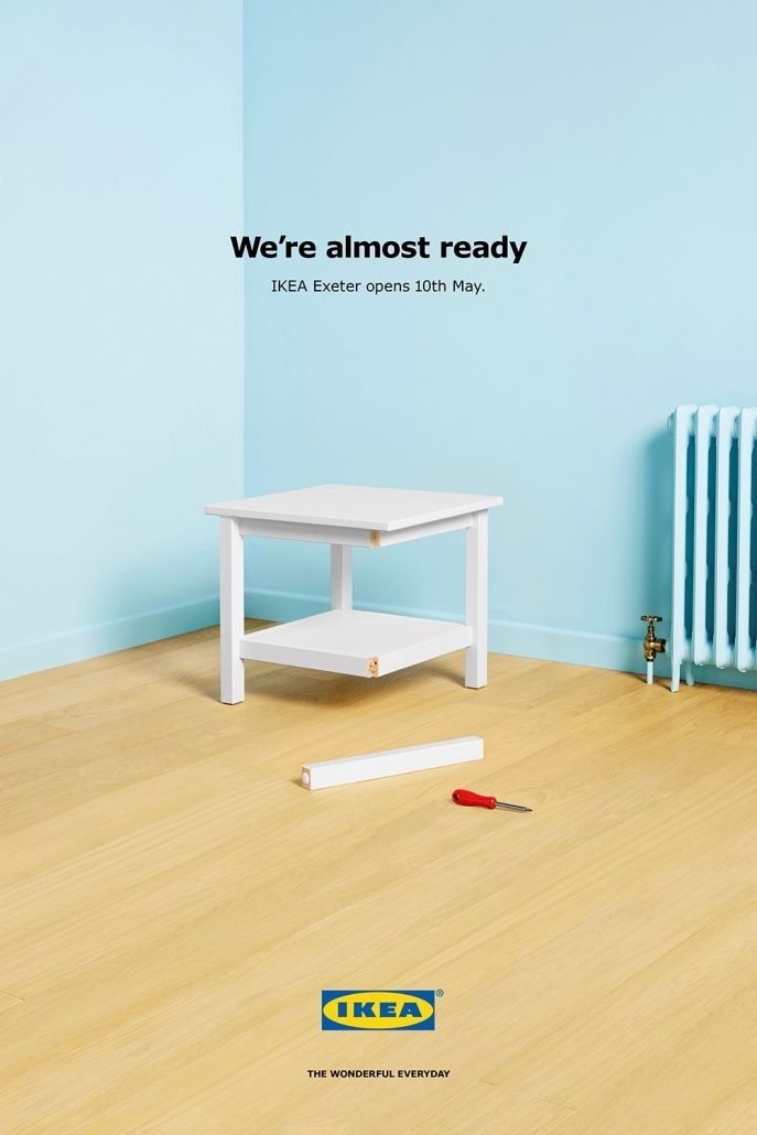 Ikea S Outdoor Advertising Campaign For New Exeter Store Dengan