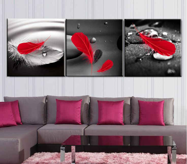 red white multiple framed painting - Google Search