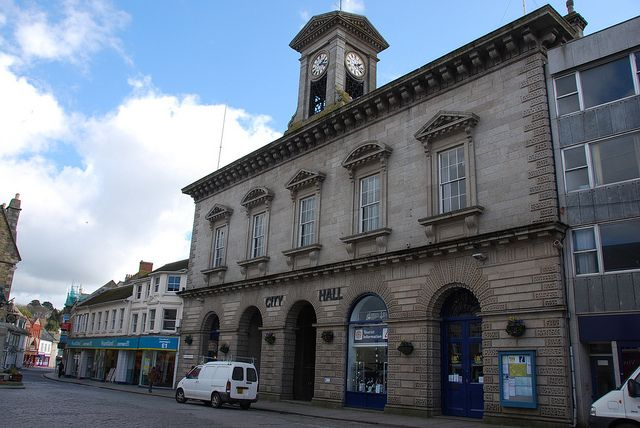 MANY Cornish people know that Roger Taylor – drummer in Queen – lived in Truro as a boy and went to Truro School. Truro, and Cornwall, played an important part in their early history, and not only because they played their first ever concert in the City Hall on 27th June 1970.  ~ pic shows Truro - City Hall Boscawen Street