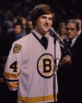 Bobby Orr Retirement Ceremony