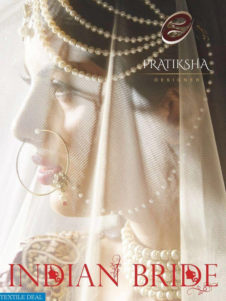 Shop now Pratiksha Designer Bridal Lehengas at wholesale price at #TextileDeal
