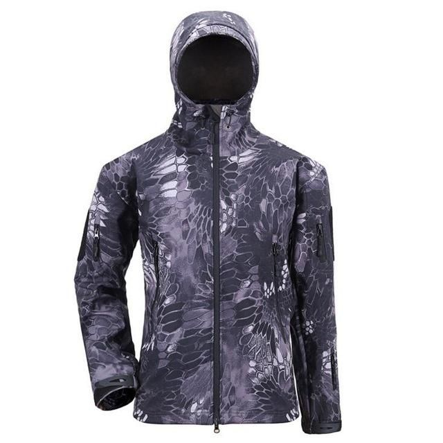 Army Camouflage Coat Military Jacket Waterproof Windbreaker Raincoat Hunt Clothes Army Men Outerwear Jackets And Coats