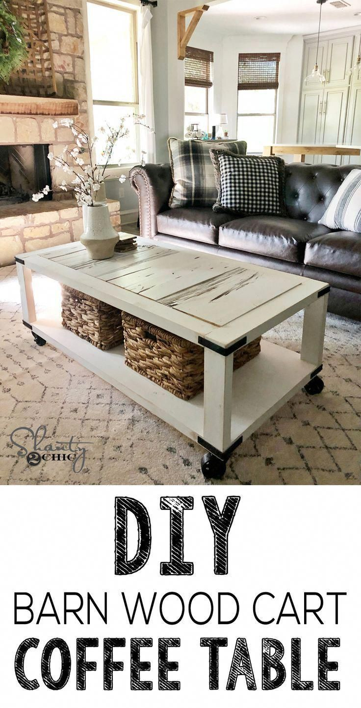 love this coffee table this diy cart coffee table is perfect for rh pinterest com