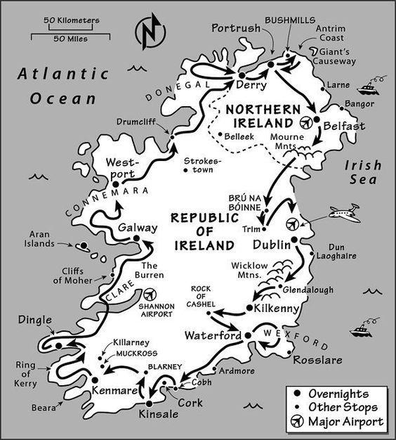 Ireland Itinerary: Where to Go in Ireland by Rick Steves