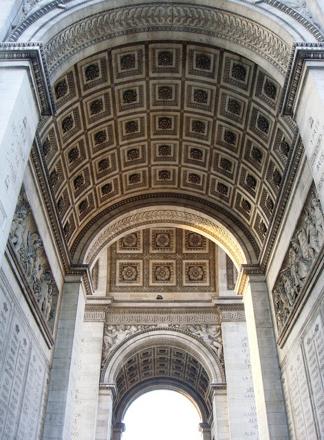 Arc de Triomphe, Paris photo by Hiroshi Nakanishi via Flickr