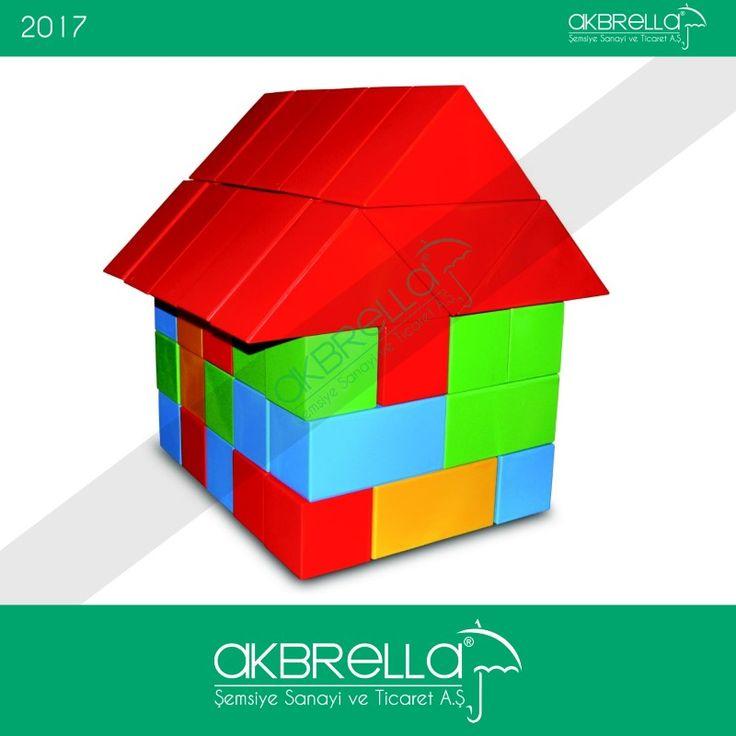 Çok renkli plastik puzzle ev modelimiz çocuklar için oldukça eğlenceli oyun paralarımızdan biridir, diğer ürünleri ve bu parçayı online satış web sitemizden yakından inceleyiniz. #puzzleev #AkbrellaEv #AkbrellaPuzzle