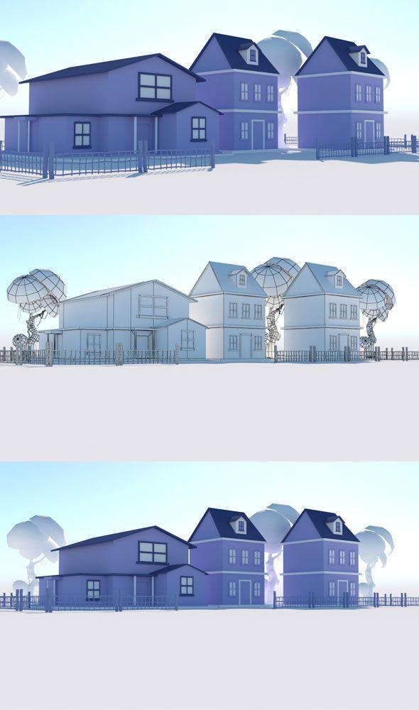 house vol 3 3docean item for sale ar vr game design house 3d rh pinterest com