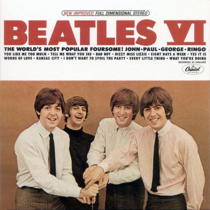 beatles album covers | Beatles VI Album Cover