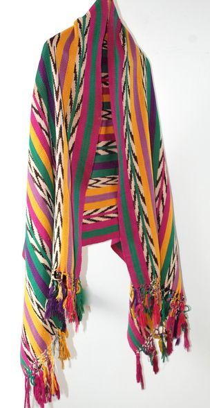 Guatemalan Mayan Rebozo 1960-70s