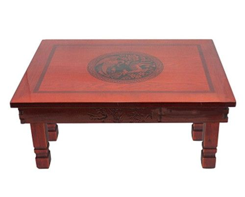 Find Quality Korean Dining Table Folding Legs Rectangle Living Room Antique Tea Traditional Oriental Design Furniture Manufacturers