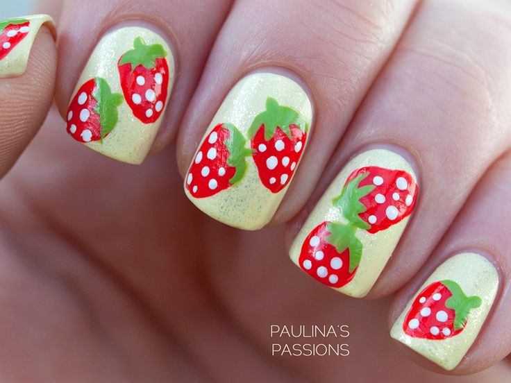 Strawberry Nail Art - Best 20+ Strawberry Nail Art Ideas On Pinterest—no Signup Required