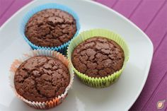 Cupcakes de Chocolate aptos para embarazadas con diabetes gestacional.  http://healthy-plan.de/blog/cupcakes-de-chocolate-diabetes-gestacional/  Healthy Plan Blog.