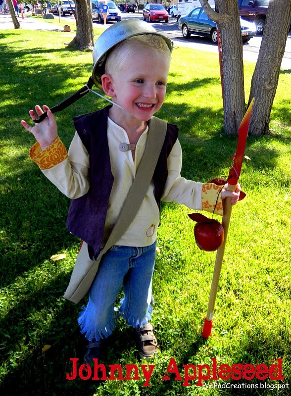 Johnny Appleseed costume
