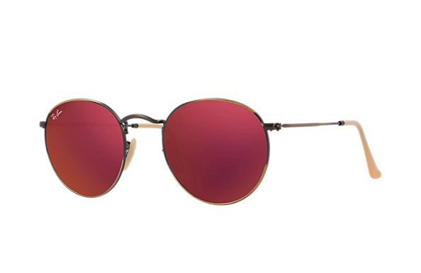 Ray-Ban RB3447 167/68 50-21 Round Flash Lenses  Sunglasses | Ray-Ban USA