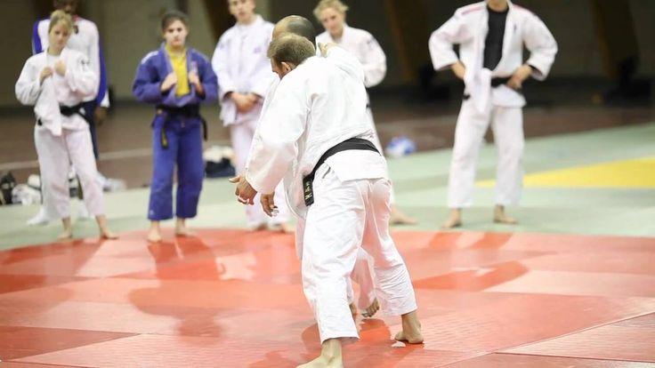 Judo masterclass training with go tsunoda sensei seizing
