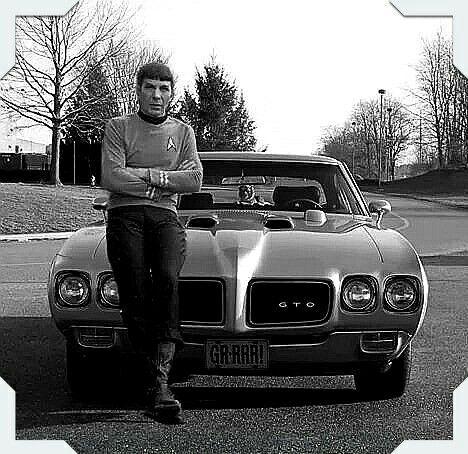 The Late Great Leonard Nimoy Spock Of Star Trek Fame