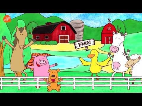 Walk Around the Farm - by ELF Learning