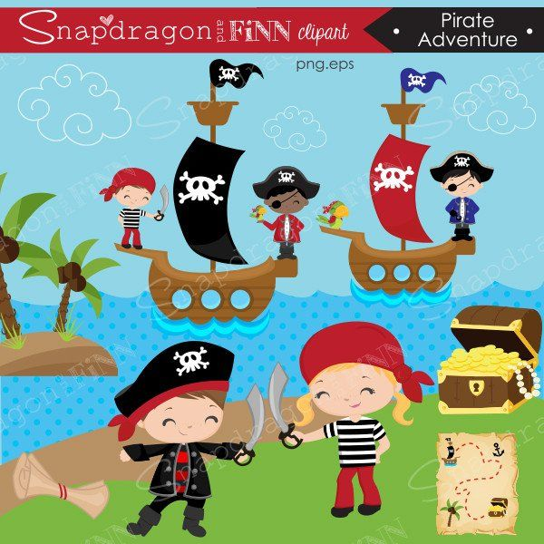 Pirate Adventure Clipart