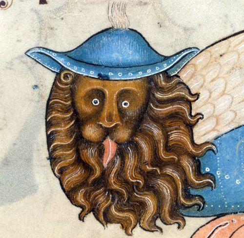 the lion kingLuttrell Psalter, England ca. 1325-1340British Library, Add 42130, fol. 178r: