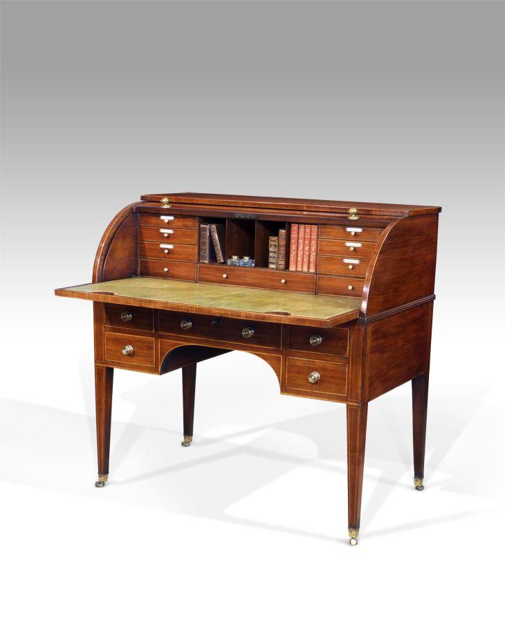Antique cylinder desk - 150 Best Antique Desks Images On Pinterest Antique Desk, Antique