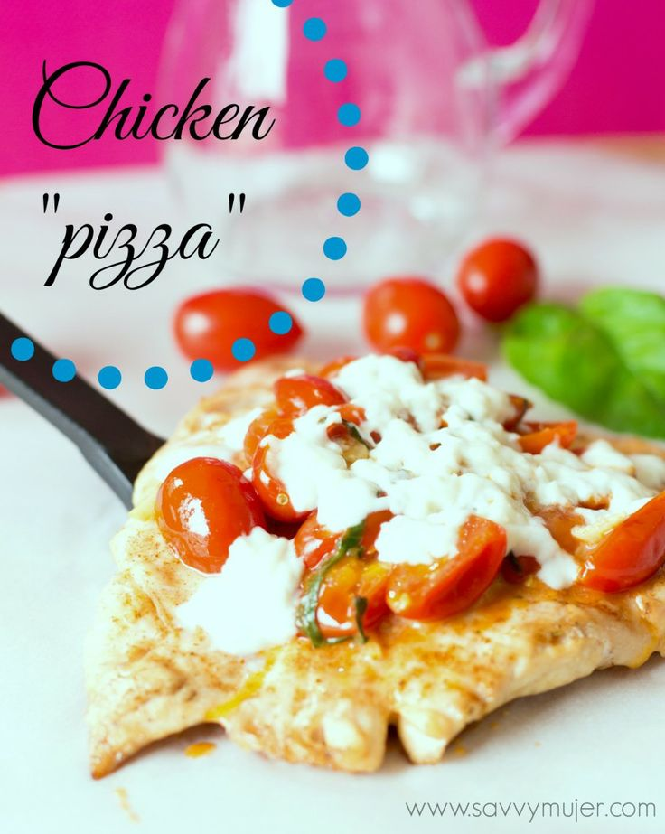 Dressing up a chicken breast recipe. Are you ready for pizza night?