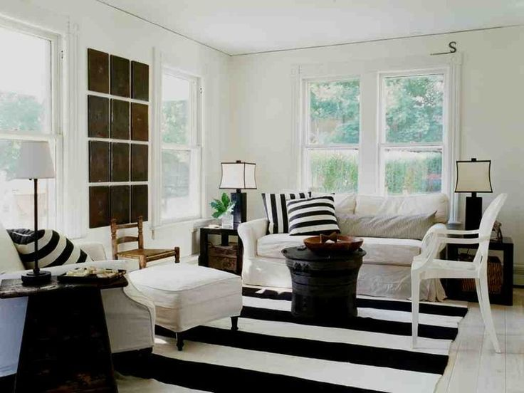 Eclectic Living Room By SchappacherWhite Architecture D.P.C.