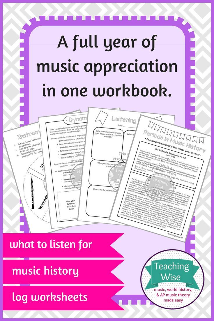 This interactive notebook contains 19 different pages of readings and activities to teach students how to listen critically and what to listen for, followed by blank listening log questions sheets that are appropriate for ANY type of music.   It's a great cross-curricular resource that includes reading comprehension and activities to reinforce learning, and it's a fantastic way to get music appreciation marks throughout the year!
