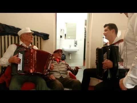 Štefan Kollár a Ján Komenda  94 rokov a Karel Císař- VORAŘI