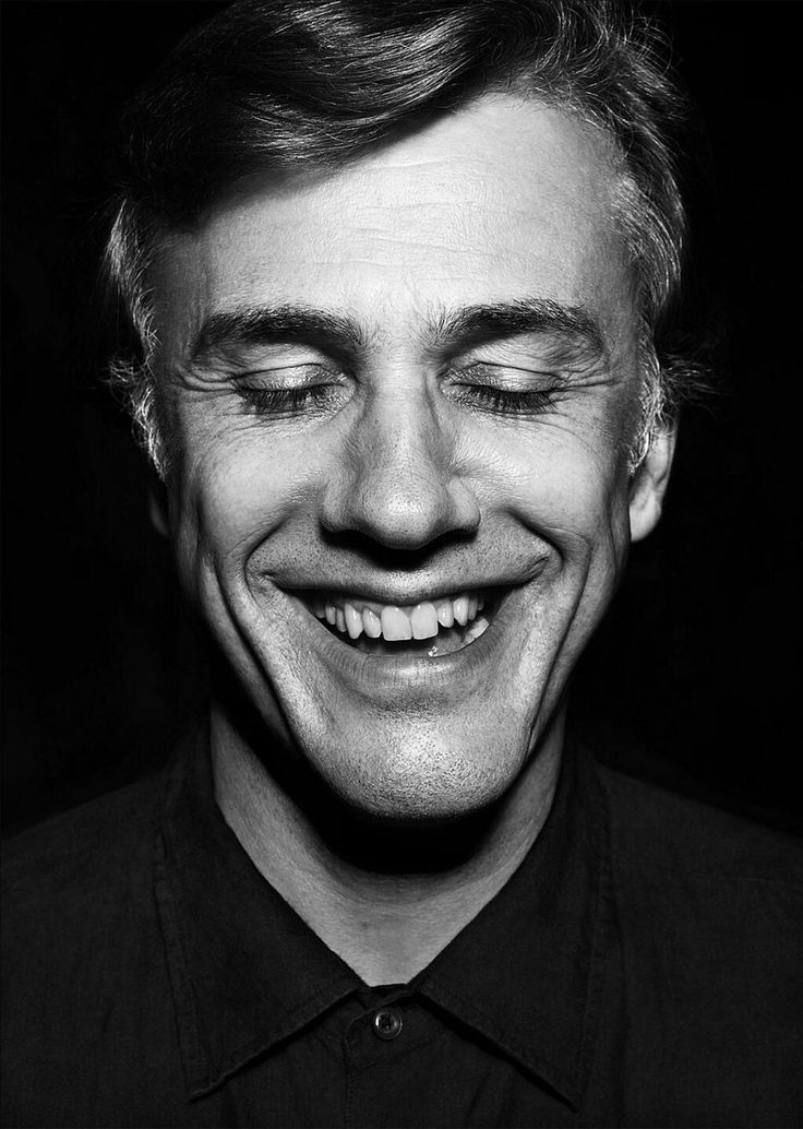Christoph Waltz photographed by Peter Hoennemann [x]